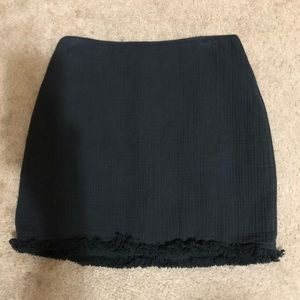 Madewell black skirt